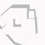 Abstrakt takplan. Patio Hus i Sirevåg