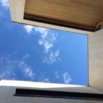 3 Patio Hus på Bryne. Detalj accoya himmel.