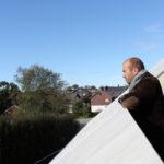 3 Patio Hus på Bryne. Tid for meditasjon. Taket danner et naturlig gjerde.