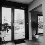 Moderne dørhåndtak.