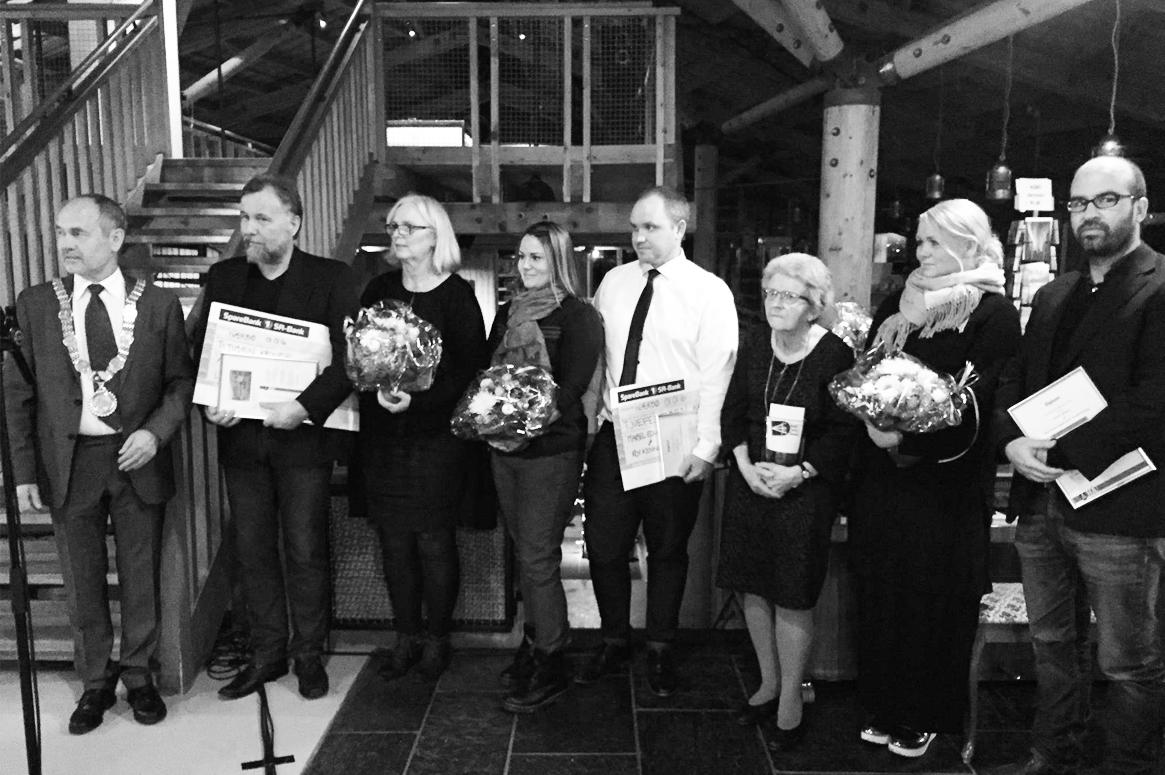 SAARK Arkitekter MNAL har mottat Hå kommunes Byggeskikkpris 2015 for Patio Hus i Sirevåg