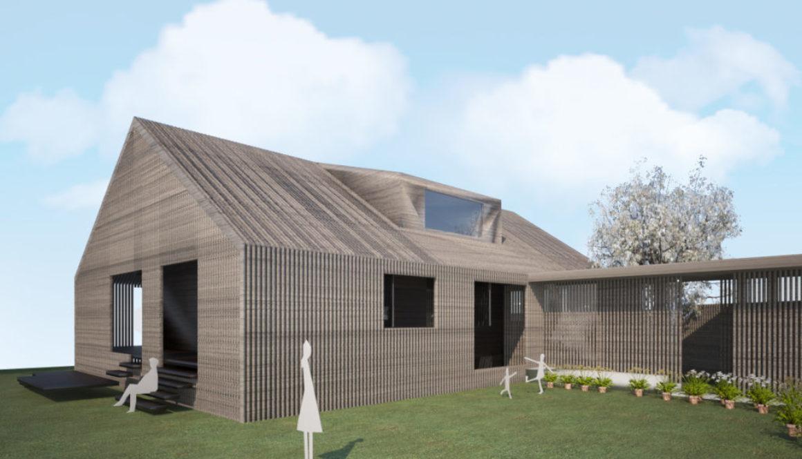 Tilbygg og fasadeendring i Sirevåg