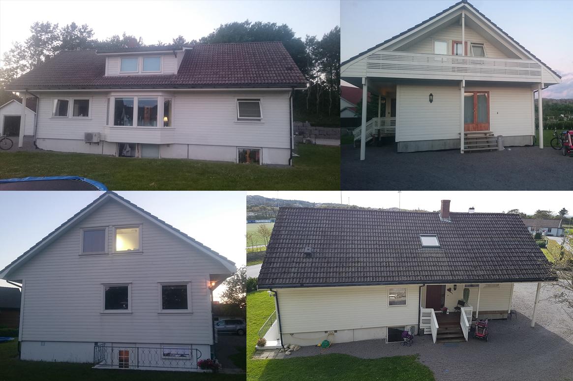 før. Tilbygg og fasadeendring i Sirevåg