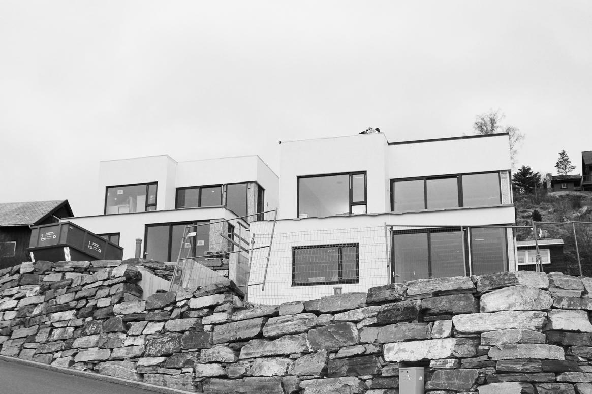 Tvillinghus på Hana