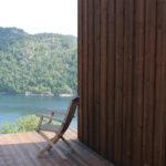 Annex i Mandal . Flott landskap i Kårfjord. Takterrasse hvor utsikten kan nytes.