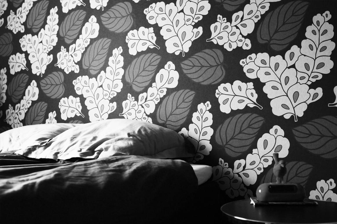 Renovering Enebolig på Tasta .Det nye soverommet som en fuksjonell privat sone.