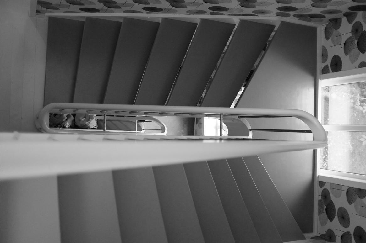 Renovering Enebolig på Tasta .Tappen loftet til resten av huset på en naturlig måte.