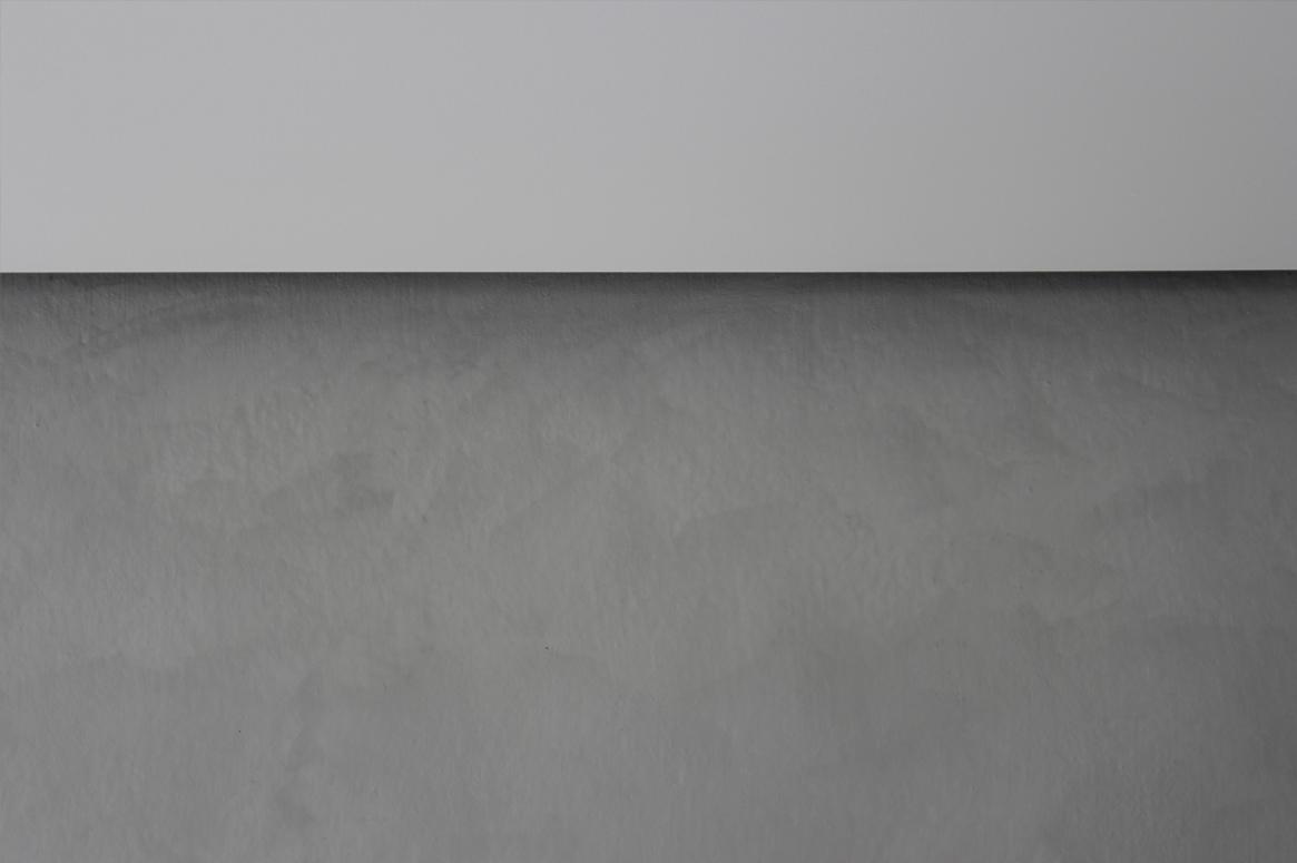Tvillinghus på Hana detalj lys betong mur